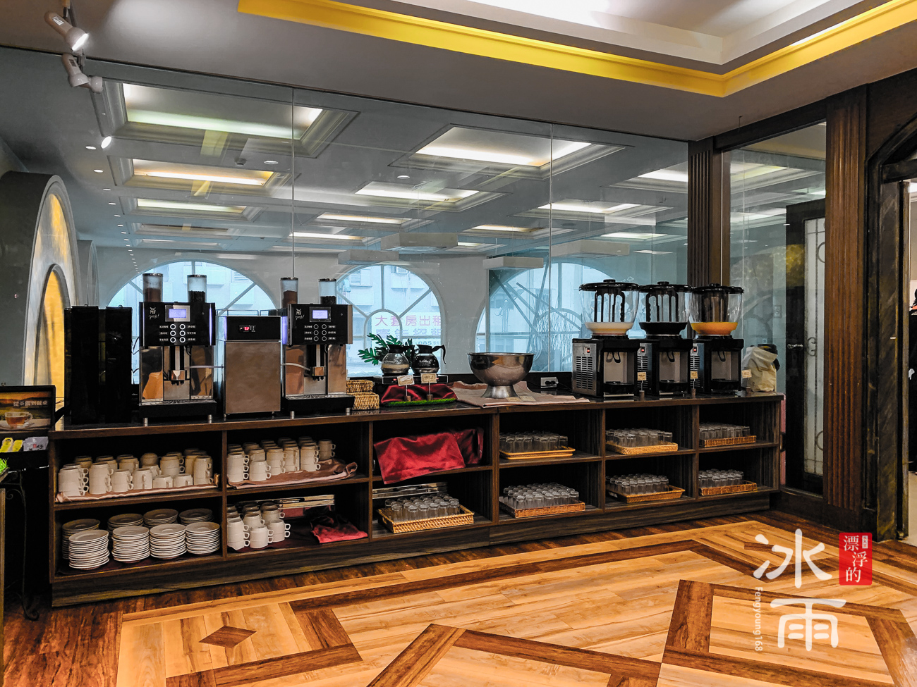 川湯春天溫泉飯店德陽館|自助餐檯
