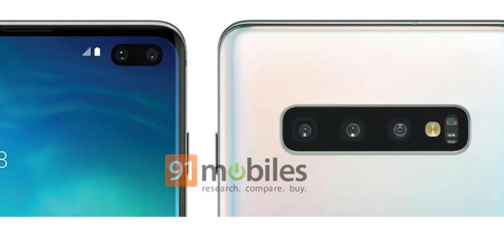 Samsung Galaxy S10 Plus se filtró de cerca