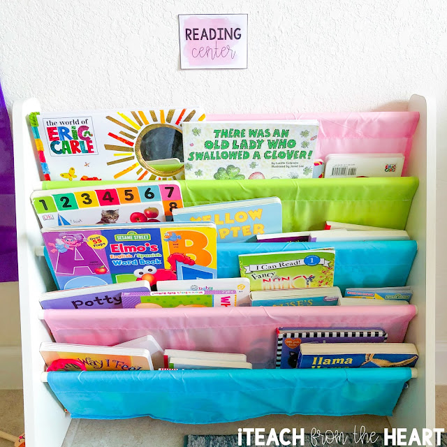Watercolor Classroom Decor | iTeach from the Heart