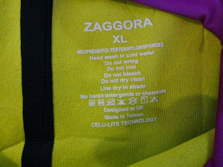 Zaggora Hot Pants Washing Instructions