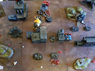 40k SW+IK vs Squat - squats end turn 2