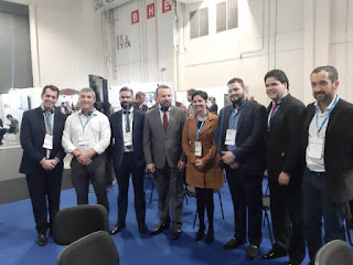 Membros do CODIVAR participam de um dos principais eventos de negócios do país