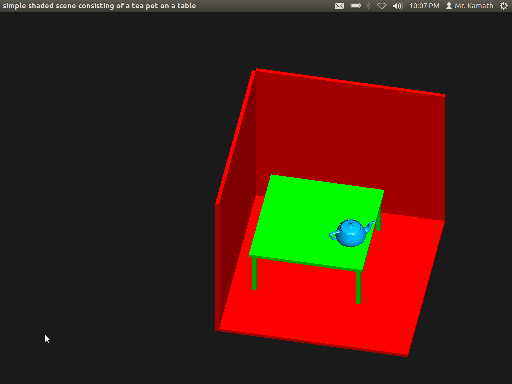 Line Drawing Algorithm Using Opengl : Graphics and game programming in opengl program to draw a teapot