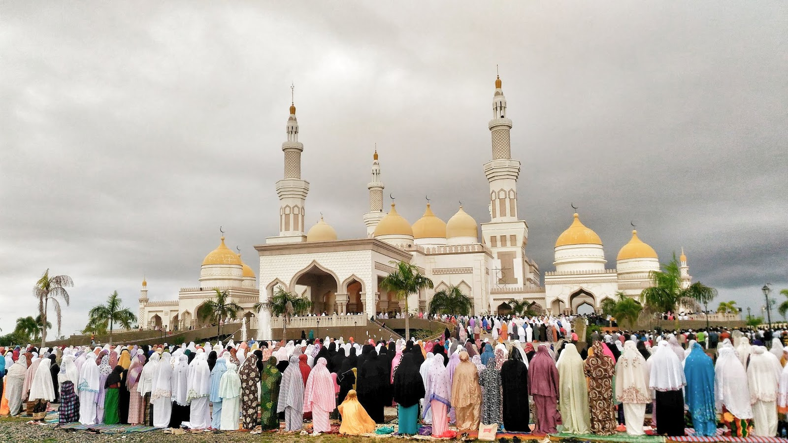 Eid Congregational Prayer at the Grand Mosque in Cotabato City