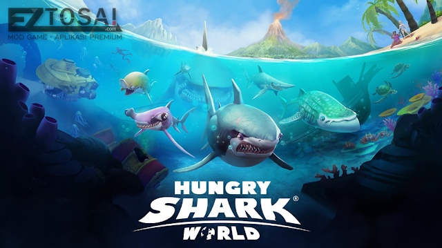 Hungry Shark World Mod Apk Gratis