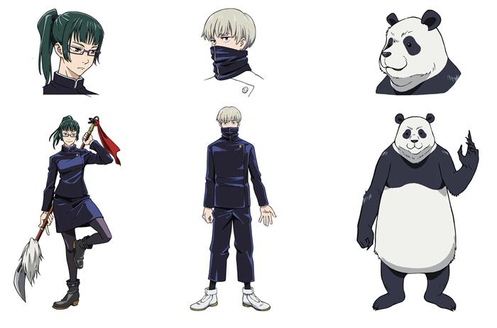 Jujutsu Kaisen anime - reparto