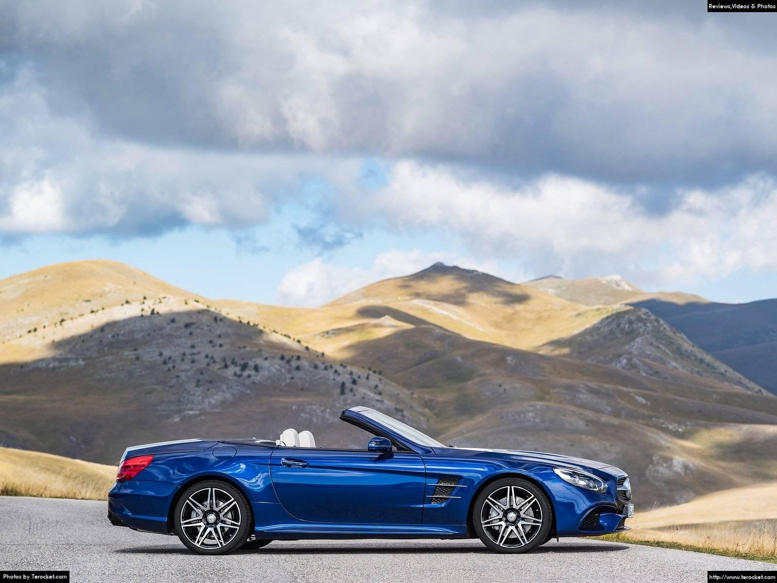 Hình ảnh xe ô tô Mercedes-Benz SL 2017 & nội ngoại thất