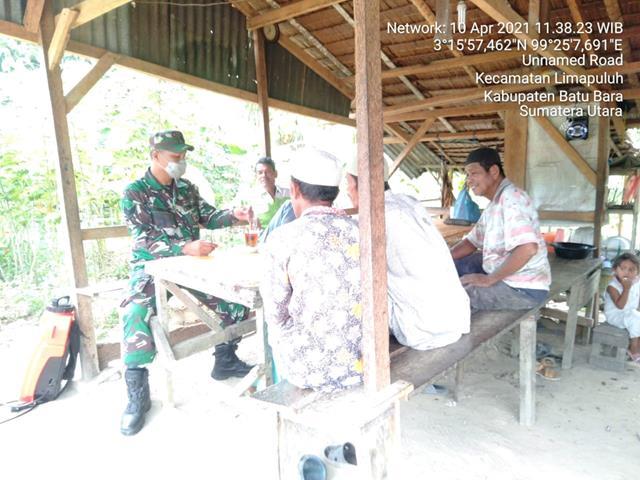 Jalin Silaturahmi, Personel Jajaran Kodim 0208/Asahan Laksanakan Komunikasi Sosial Bersama Tokoh Agama Dan Masyarakat