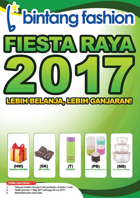 FIESTA RAYA 2017 DI BINTANG FASHION
