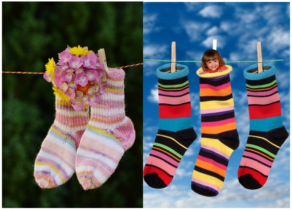 calcetines patrones para crochet