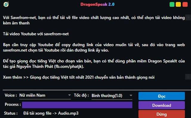 làm video với giọng đọc tiếng Việt