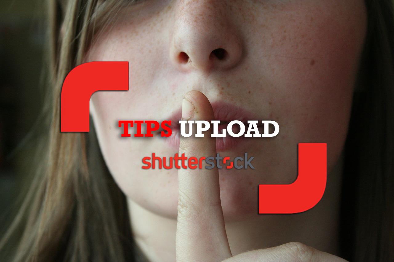 tips rahasia upload di shutterstock