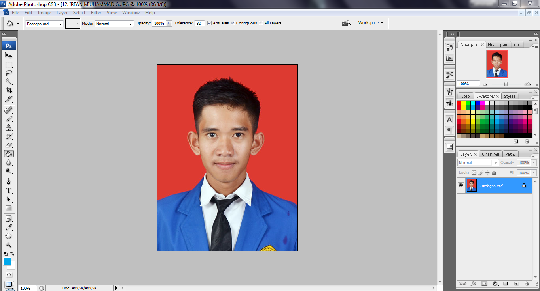 Cara Mengganti Background Foto Dengan Photoshop Kang Ghani