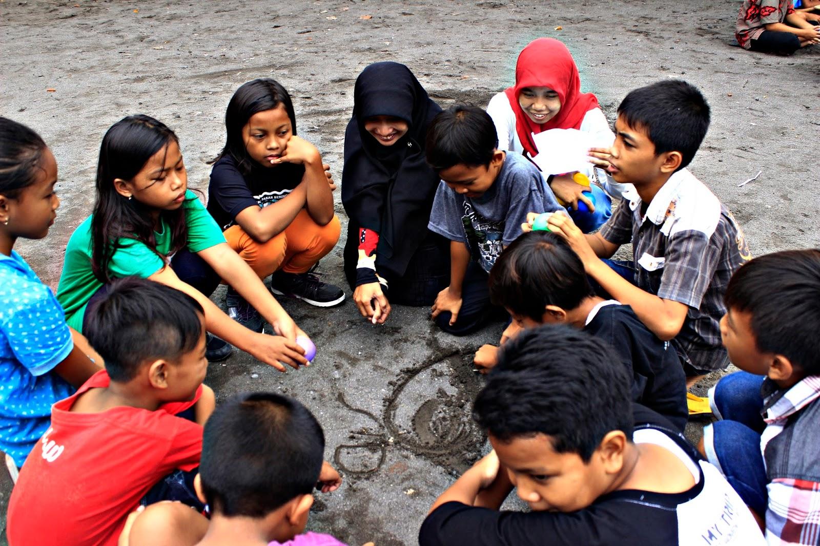 pos pasar sekolah berjalan book for mountain sd sribit bambanglipuro bantul