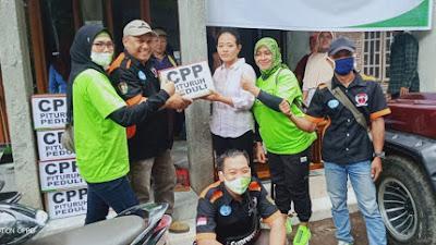 CPP Pituruh Peduli Salurkan Bantuan di Dua Desa Terdampak Bencana Alam