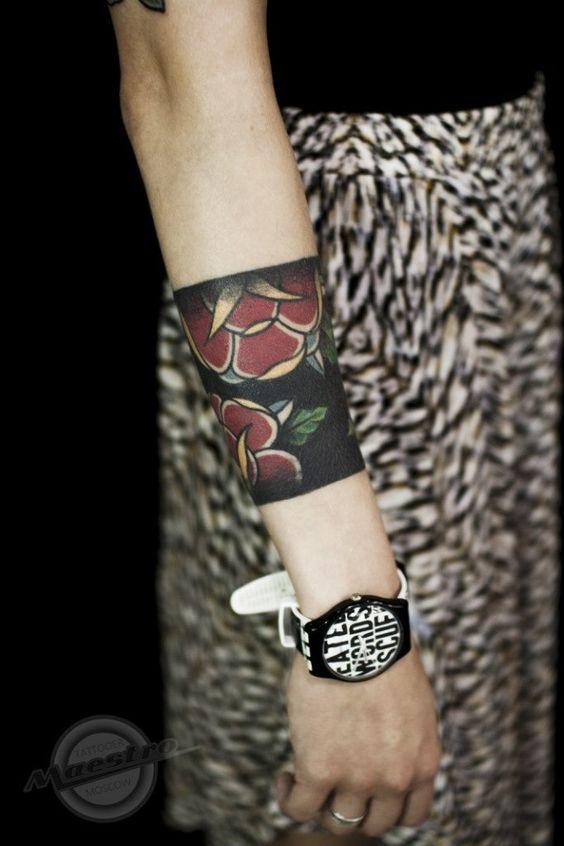 150 Tatuajes En El Antebrazo Los Mejores Temas Belagoria La - Tatuajes-de-brazaletes-para-el-brazo