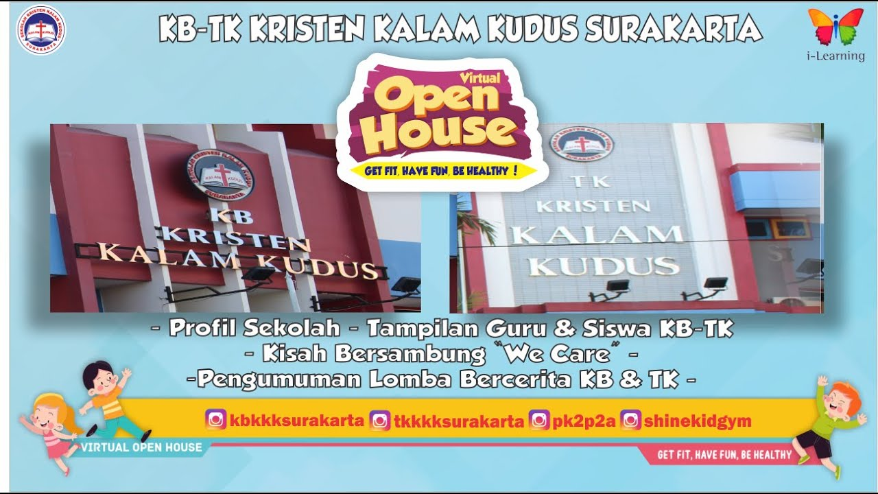 Open House KB-TK 2021 - Get Fit, Have Fun, Be Healthy!