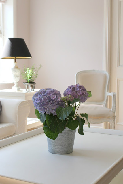 La Vie En Rose Spring Living Room