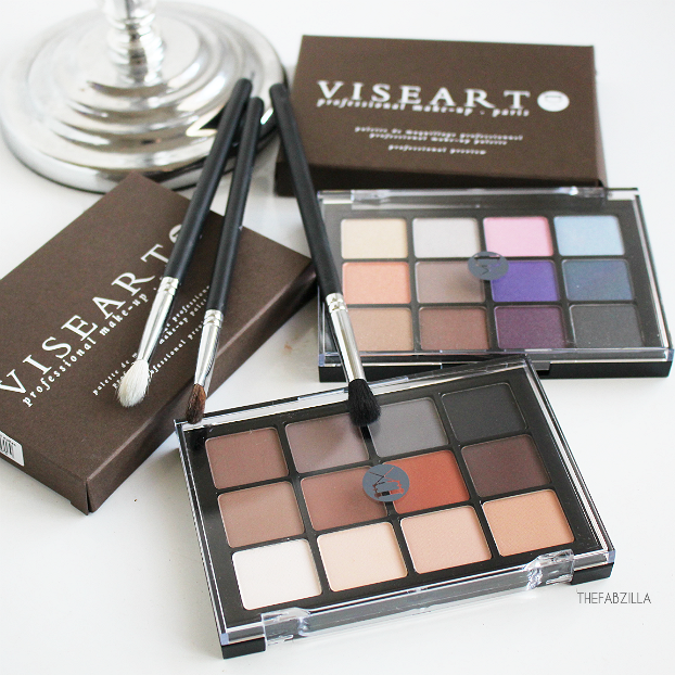 VISEART MATTE EYESHADOW PALETTE, REVIEW, SWATCH, BEST NEUTRAL EYESHADOW