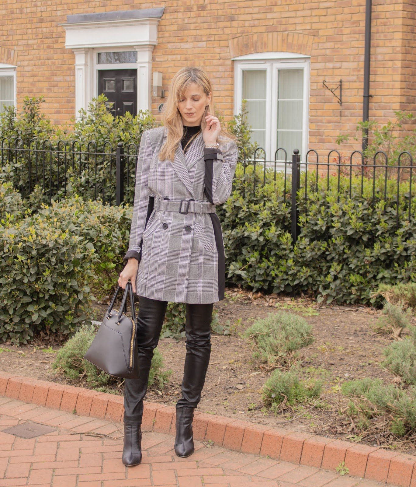Styling Faux Leather Trousers - The Daytime Edit
