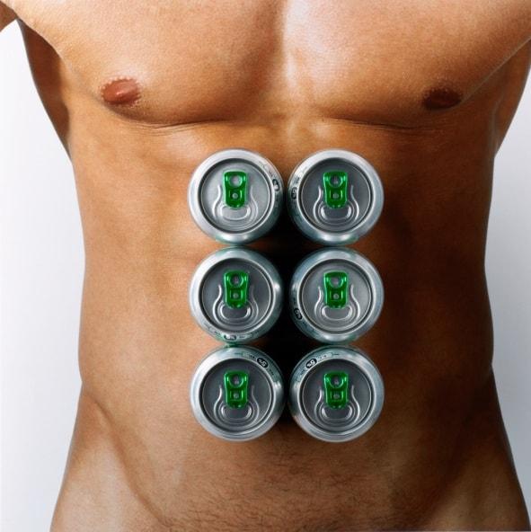 Porque la cerveza engorda la barriga