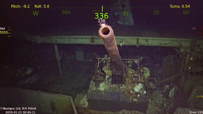 Sunken WWII carrier USS Hornet found deep in the South Pacific
