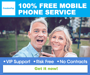 Free Mobile Phone Service every month with FreedomPop US
