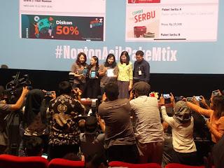 Zara JKT48, MTix Cinema 21, fitur terbaru Mtix Cinema21