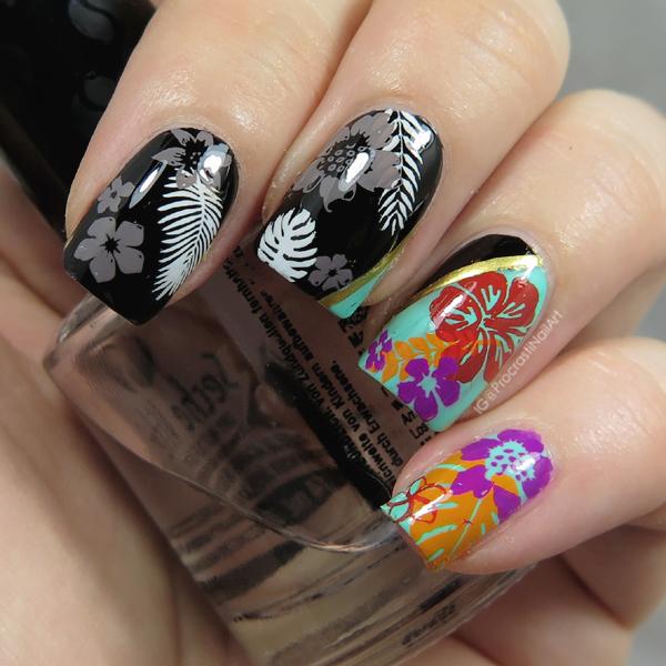 Nail Art // The Digit-al Dozen Does Colour Contrasts: Colour vs the ...