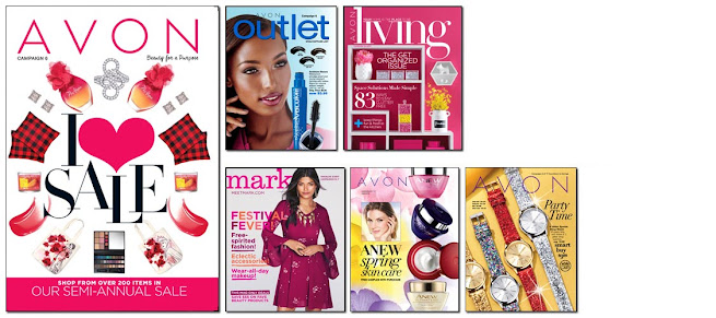 Avon Campaign 6 becomes active online to shop on 2/18/17 - 3/4/17. Click on image >>>