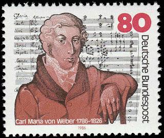 Germany 1986 Carl Maria Von Weber
