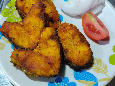Rohu fish fry recipe