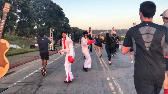 Rock'n'Roll San Francisco Half Marathon Elvis