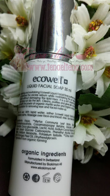 ECOWELL ORGANIC SKINCARE | Liquid Facial Soap