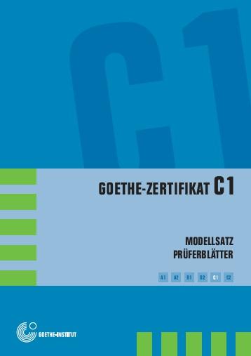 Deutsch Lernen Goethe Zertifikat C1 Download