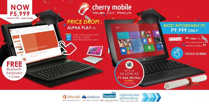 Cherry Mobile Alpha Series Price Drop