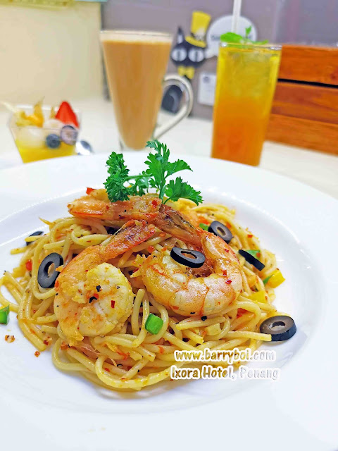 Aglio Olio Delicious Set Menu at Ixora Hotel Penang Penang Blogger Influencer