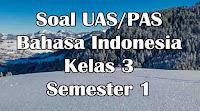soal uas bahasa indonesia kelas 3 sd