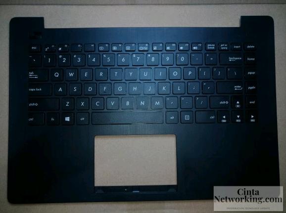 Cara Memberbaiki Keyboard Laptop Asus X453SA - Cintanetworking.com