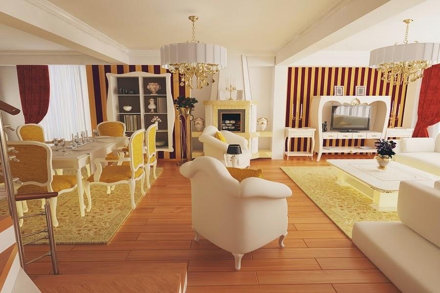 Design interior casa stil clasic Constanta - Amenajari interioare case clasice