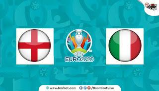 بث مباشر مباراة ايطاليا ضد انجلترا مباشرة في كأس أمم أوروبا
