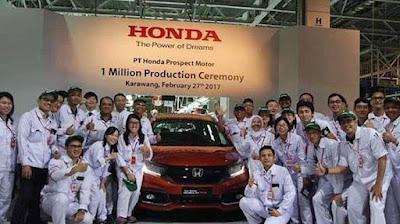 Lowongan Honda Prospect Motor Terbaru 2021