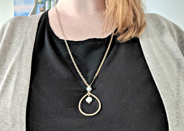 Pala pearl pendant necklace Stitch Fix