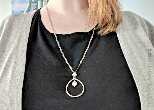 Pala pearl pendant necklace Stitch Fix