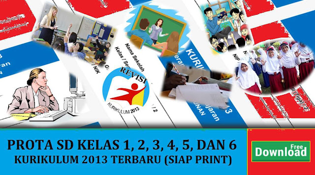 Download Program Tahunan SD Kurikulum 2013 Kelas 1 2 3 4 5 6