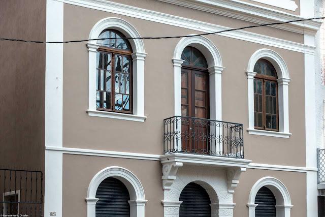 Sobrado na Emiliano Perneta restaurado - detalhe
