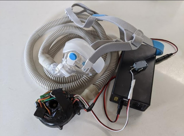 ventilator portable itb
