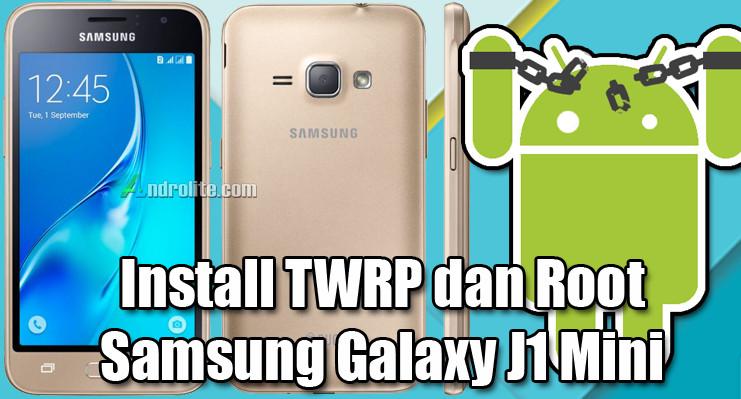 Salah satu alasan mengapa seseorang ingin melaksanakan rooting terhadap smartphone mereka ad Cara Install TWRP + Root Samsung J1 Mini (SM-J105F)