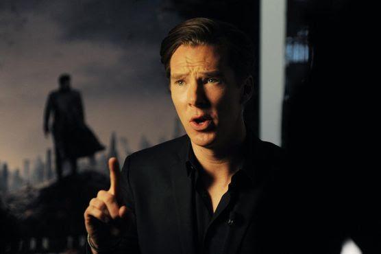 Benedict Cumberbatch at the Star Trek Into Darkness IMAX Presentation