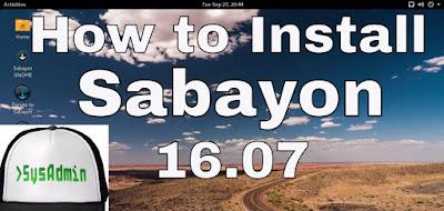 Sabayon Linux 16.07